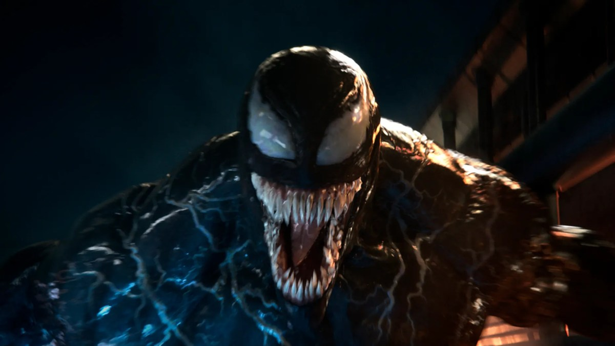 """This image released by Sony Pictures shows a scene from """"Venom."""""""