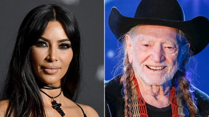 Kim Kardashian and Willie Nelson headed to the polls on Tuesday to vote their votes for the midterm elections.