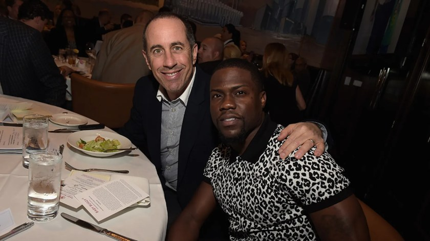 """Jerry Seinfeld weighed in on the Kevin Hart Oscar controversy, saying that he thinks the actor won't be """"so easy"""" to replace as a host."""