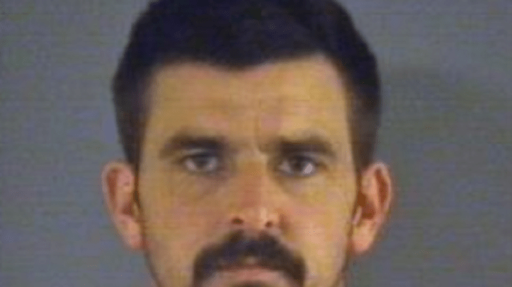 John David Jones, 36, allegedly shot a North Carolina state trooper in the face Monday evening during a routine traffic stop.