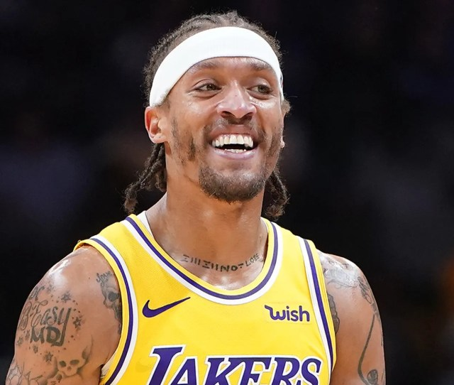 Michael Beasley Attempted To Enter A Game Thursday With The Wrong Shorts On