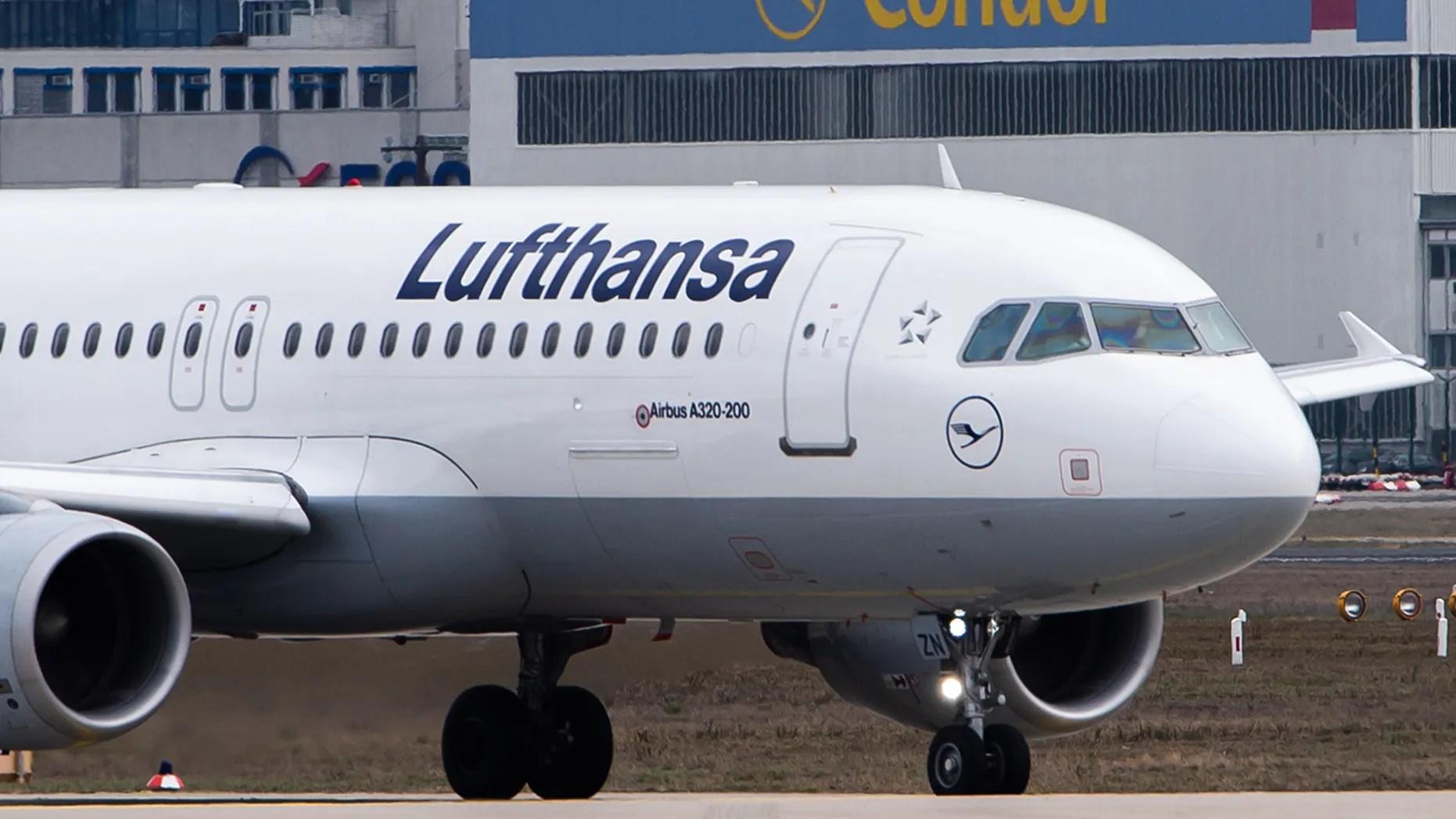 lufthansa comes after passenger