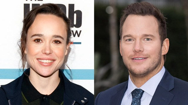 """Ellen Page doubled down on her comments on Chris Pratt attending a church she said is """"infamously anti-LGBTQ."""""""