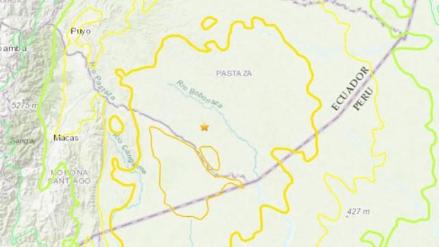 A 7.5 magnitude earthquake struck near the Ecuador-Peru border Friday.