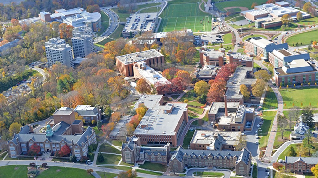 A view of Townson University in Maryland.