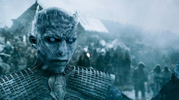 """This image released by HBO shows a scene from """"Game of Thrones."""" The final season premieres on Sunday. (HBO via AP)"""