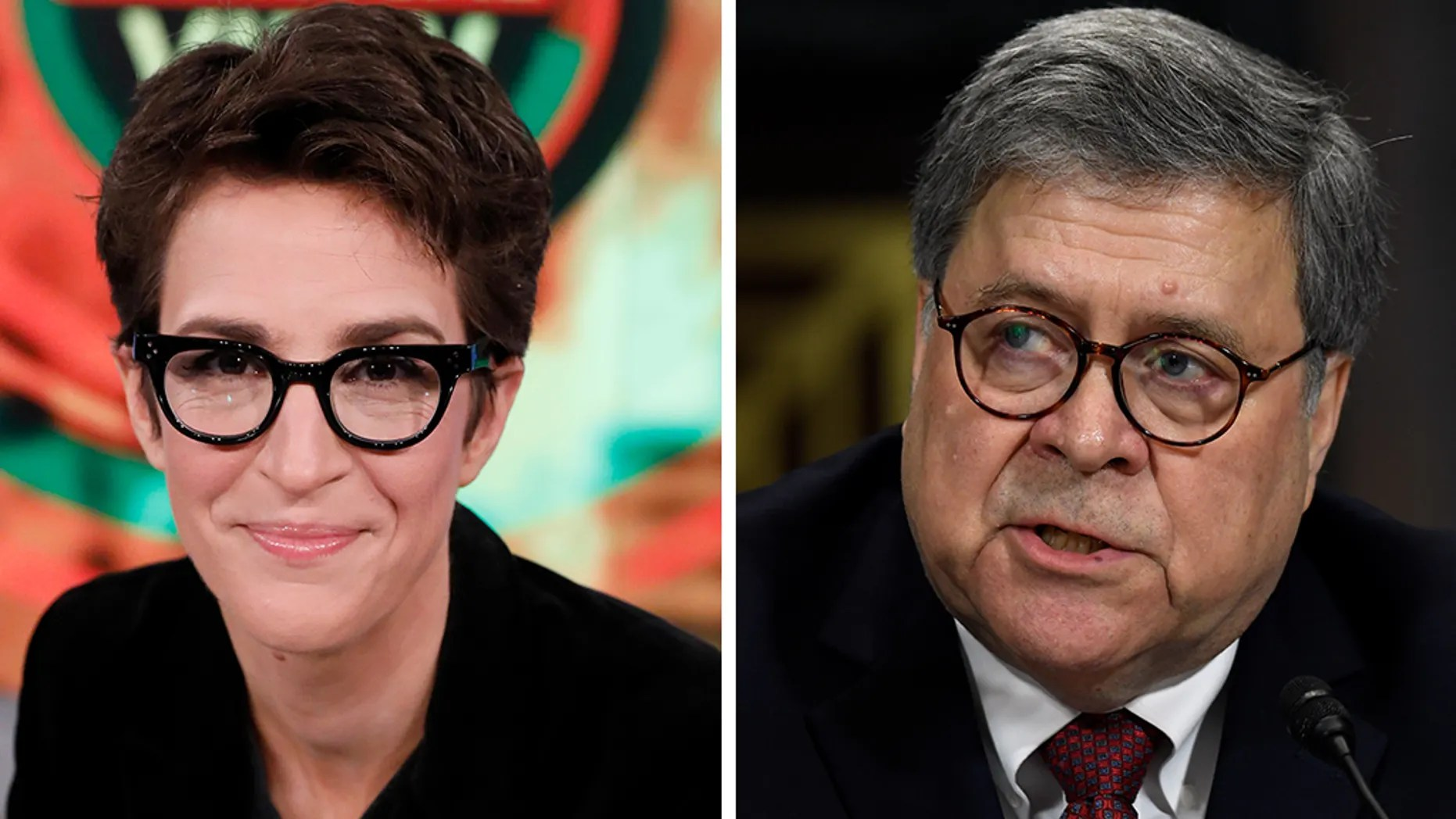 Rachel Maddow Democrats Used Misleading Barr Video To
