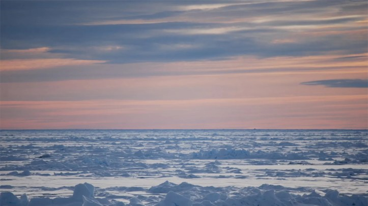Canadian scientists have completed 17 research expeditions into the Arctic Ocean since 2006, the most recent in 2016. Credit: Geological Survey of Canada/Natural Resources Canada
