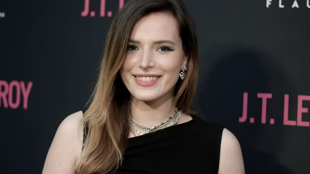 In this April 24, 2019 file photo Bella Thorne attends the LA Premiere of