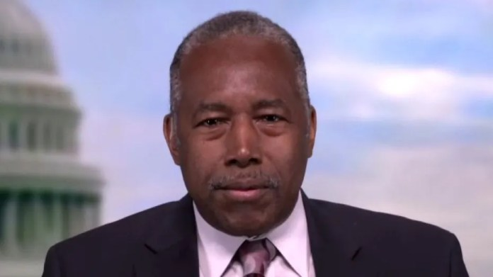 Ben Carson asks Dames to explain what is racist about Georgia voting law