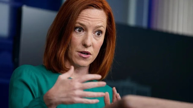 Jen Psaki points fingers at GOP as party of 'defund the police'