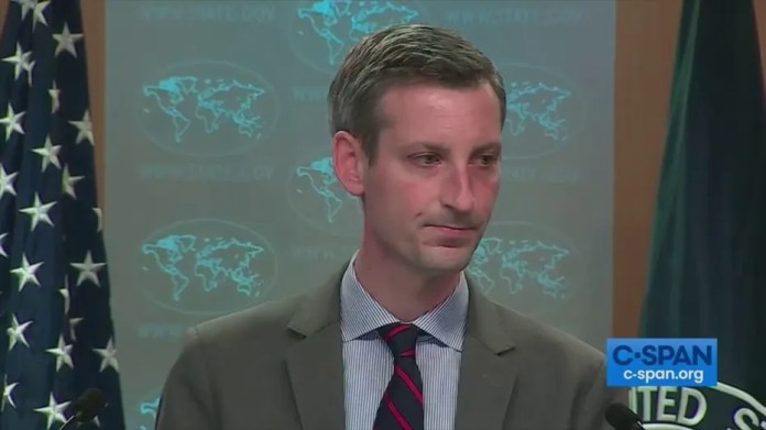 State Department briefing heats up after reporter's awkward question