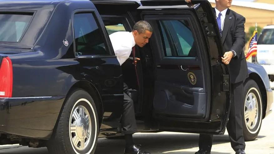 OSPresident Obamas Cadillac Limo AKA The Beast 964