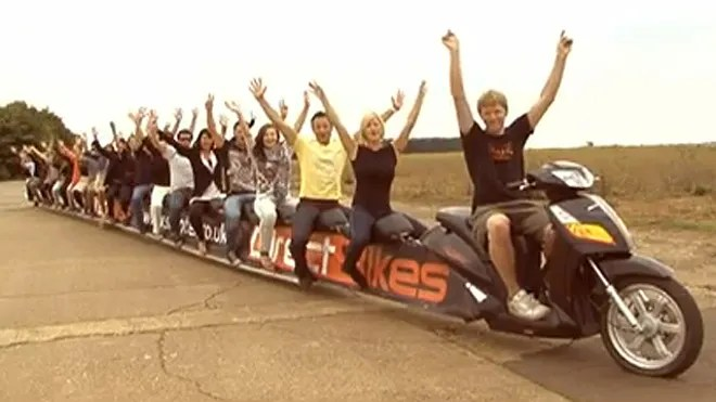 World's Longest Scooter