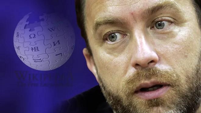 Jimmy Wales, Wikipedia