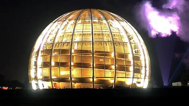 Large Hadron Collider dome