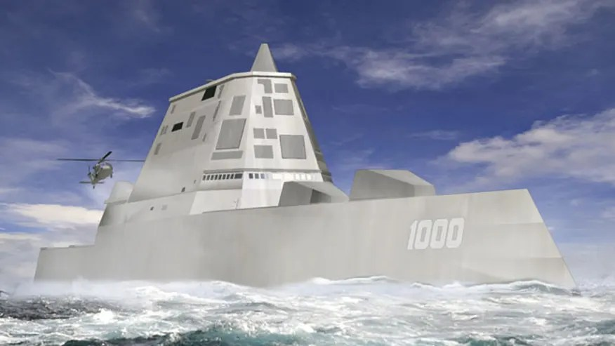 Planned Stealth Destroyer Could Underpin US Navys China