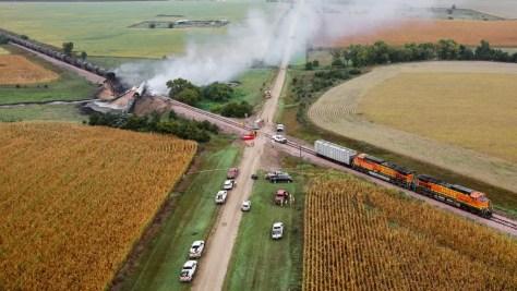 ethanol unit train fire