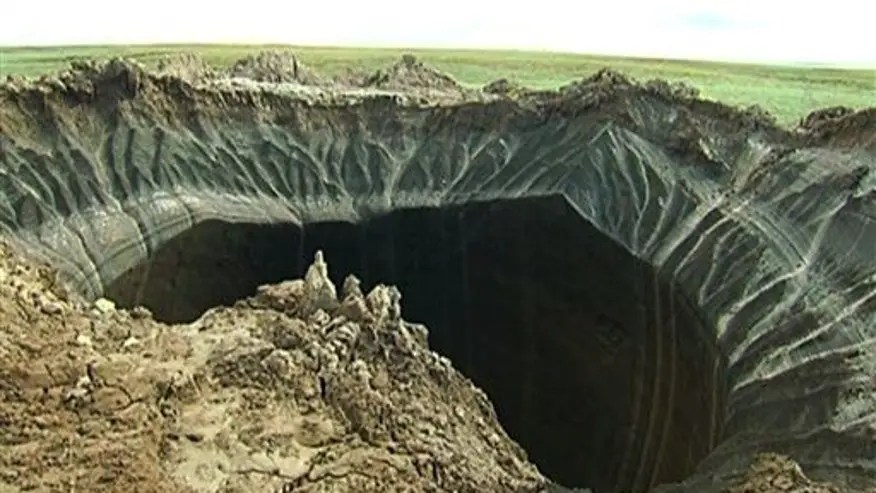 Mystery of gaping holes at 'end of the world' possibly solved