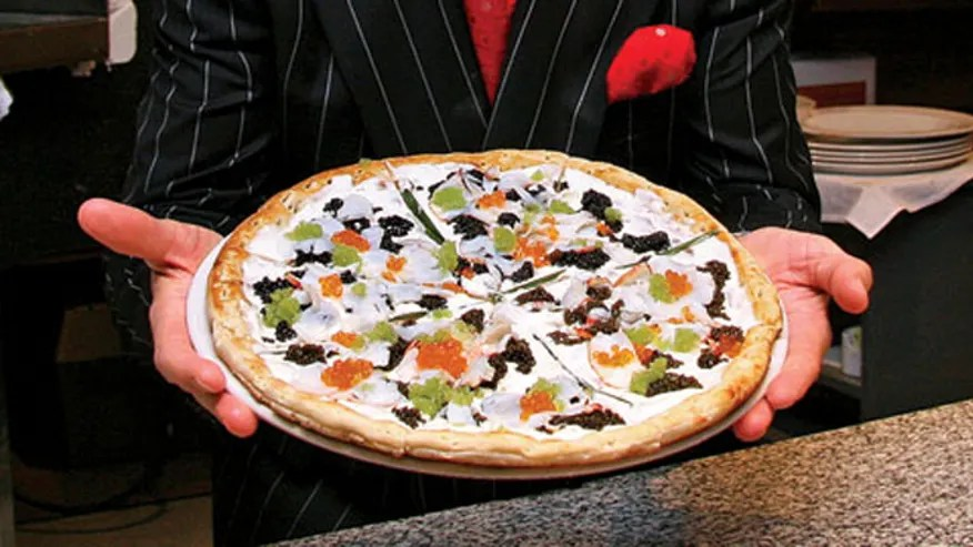 2013 Most Expensive Pizza