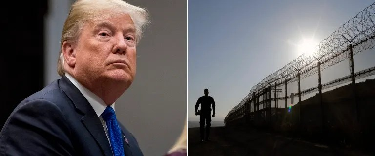 Trump administration seeks $18 billion to extend border wall over next decade