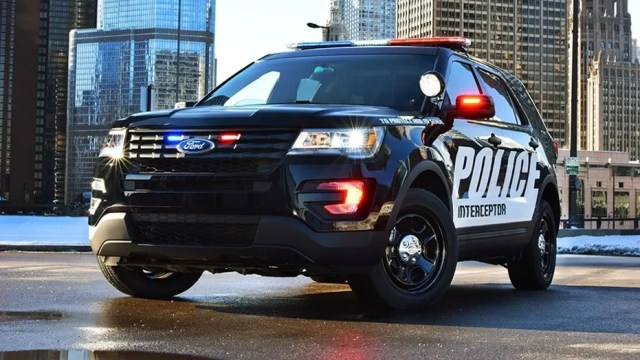 The Ford Police Interceptor Utility is the best-selling law enforcement vehicle in the United States