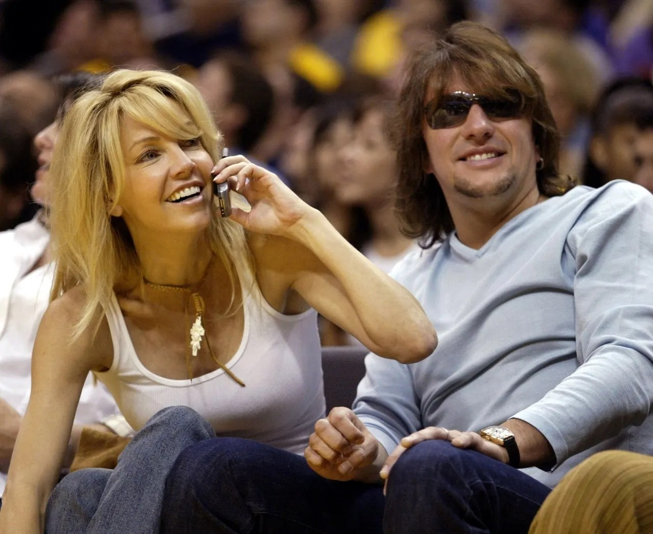 Richie Sambora and still hot ex Heather Locklear