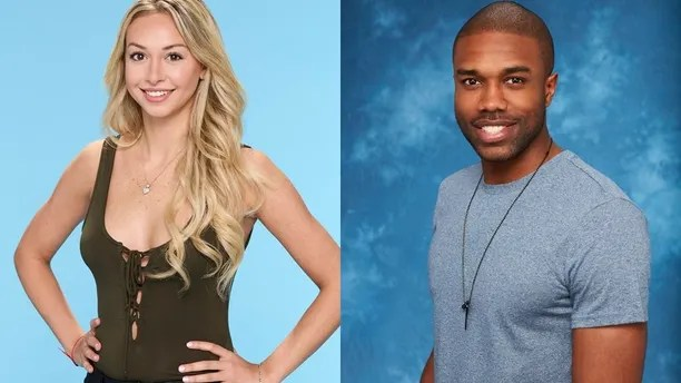 """Corinne Olympios (left) and DeMario Jackson of """"Bachelor in Paradise."""""""