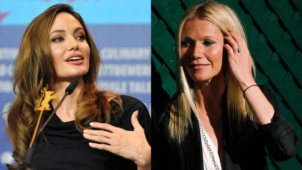 Image result for Gwyneth Paltrow and Angelina Jolie Allege They Were Sexually Harassed by Harvey Weinstein – and Brad Pitt Threatened Movie Mogul