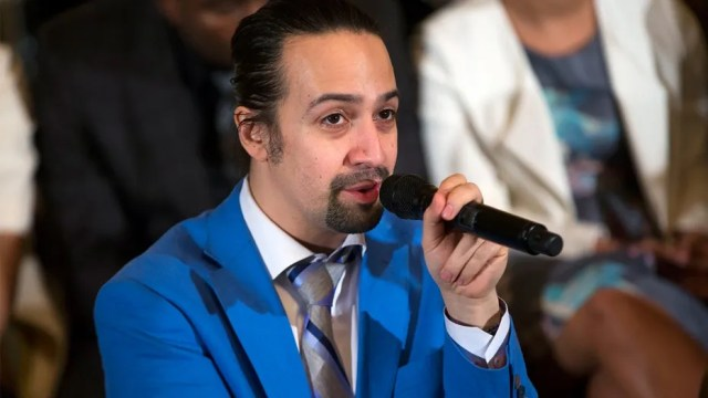 Lin-Manuel Miranda has asked to be released from his contract with The Weinstein Company.