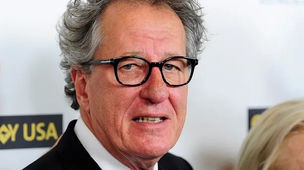 Australian actor Geoffrey Rush arrives during the G'Day USA Black Tie Gala in Los Angeles, California, January 11, 2014. REUTERS/Gus Ruelas (UNITED STATES - Tags: ENTERTAINMENT) - GM1EA1C14ZL01
