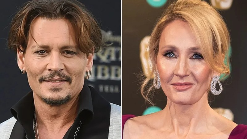 """Author J.K. Rowling is voicing her support for actor Johnny Depp and his casting in an upcoming sequel to """"Fantastic Beasts and Where to Find Them."""""""