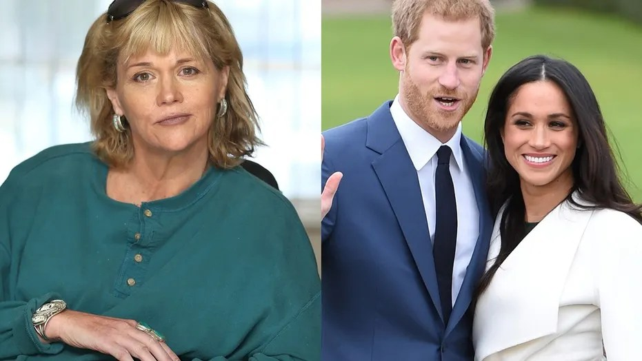 Samantha Grant (left), the half sister of actress Meghan Markle (right) is upset with her future brother-in-law, Prince Harry (center) for comments he made about his family's Christmas celebration with Markle.