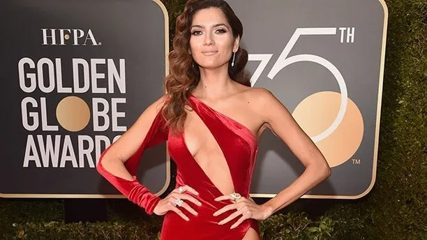 Blanca Blanco attends The 75th Annual Golden Globe Awards at The Beverly Hilton Hotel on January 7, 2018 in Beverly Hills, California.