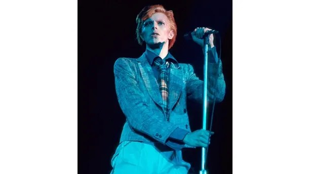 Picture shows_Archive image of David Bowie performing in 1976 (id number - hi000494950)
