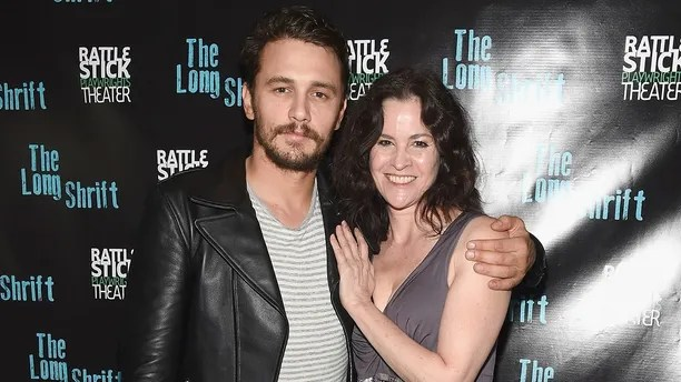 """NEW YORK, NY - JULY 13:  Director James Franco and actress Ally Sheedy attend the after party during """"The Long Shrift"""" opening night at Rattlestick Playwrights Theater on July 13, 2014 in New York City.  (Photo by Gary Gershoff/WireImage)"""