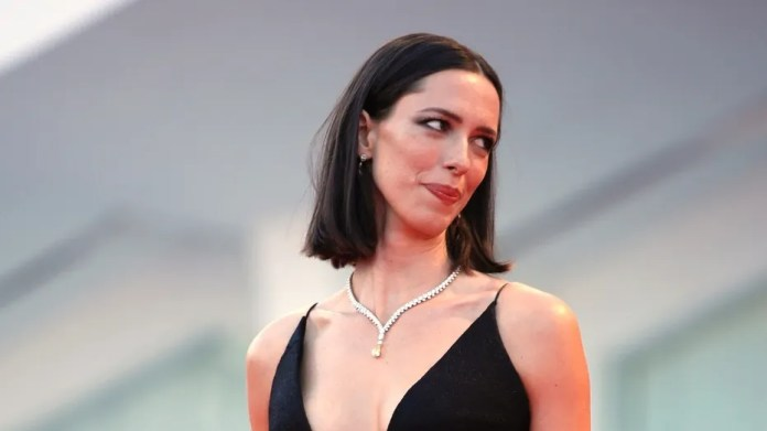 "Actress Rebecca Hall, seen in this file photo, said she is donating her earnings from ""A Rainy Day in New York"" to the Time's Up coalition."