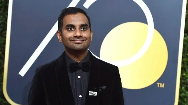"FILE - In this Sunday, Jan. 7, 2018 file photo, Aziz Ansari arrives at the 75th annual Golden Globe Awards in Beverly Hills, Calif. The publication of an account by a woman identified only as ""Grace"" detailing her 2017 encounter with comedian Aziz Ansari intimated that Ansari deserved inclusion in the ranks of abusive perpetrators, yet many readers _ women and men _ concluded the encounter amounted to an all-too-common instance of bad sex during a date gone awry. (Photo by Jordan Strauss/Invision/AP)"