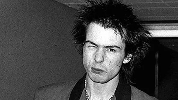 SHOWBIZ Punk/Vicious file...File photo dated 3/11/77 of punk band Sex Pistol's Sid Vicious arriving at Heathrow Airport from Luxembourg. Radio 2 is set to lose its cosy image and run a series on punk rock. Former Sex Pistol Glen Matlock  who was replaced by Vicious  presents the series Anarchy In The UK, named after one of the band's most infamous tracks, next month. See PA story SHOWBIZ Punk. PA Photos NB: Available in B&W only