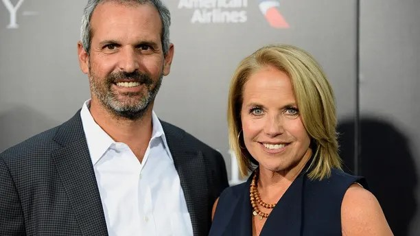"Katie Couric and husband John Molner attend the New York premiere of the film ""Sully"" in Manhattan, New York, U.S., September 6, 2016."