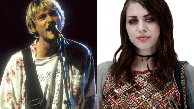 Kurt Cobain's famous guitar is now in the hands of his daughter Frances Bean Cobain's ex-husband.