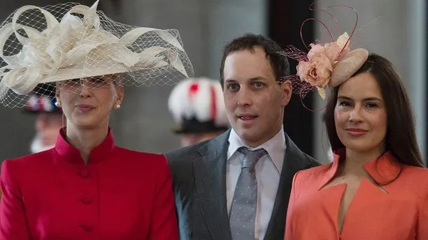 Lady Gabriella Windsor, Lord Frederick Windsor and wife Sophie Winkleman arrive for a service of thanksgiving to mark the 90th birthday of Britain's Queen Elizabeth at St Paul's Cathedral in London, Britain, June 10, 2016. REUTERS/Stefan Rousseau/Pool - LR1EC6A0W76LD