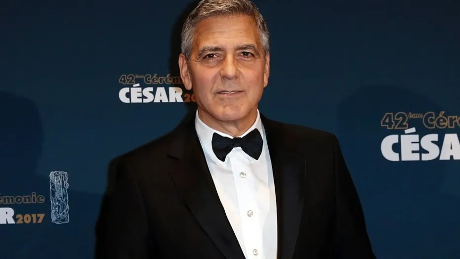 Video footage of George Clooney's motorbike accident was captured and released to the public.