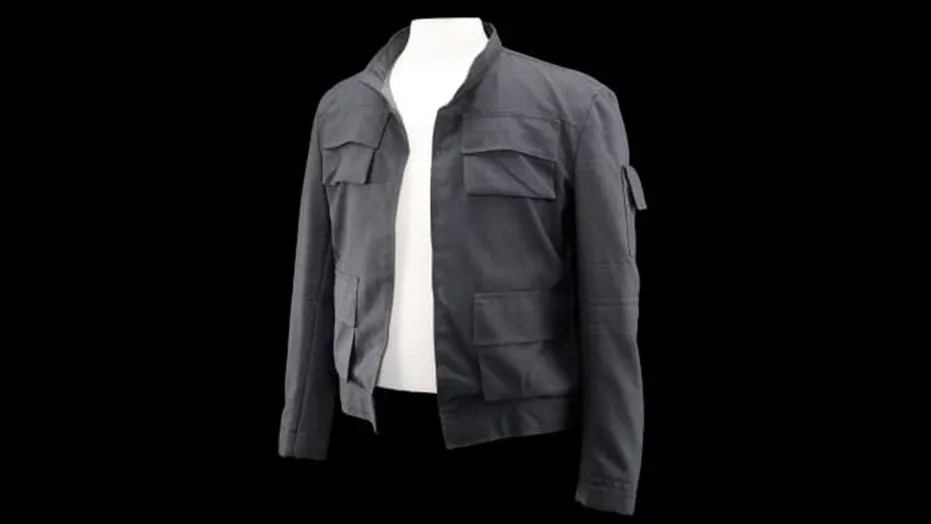 """""""Star Wars"""" icon Han Solo's jacket from """"The Empire Strikes Back"""" is going up for auction this fall."""