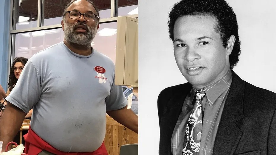 "The former ""Cosby Show"" star was snapped by a shopper working behind the counter of a Trader Joe's in New Jersey."