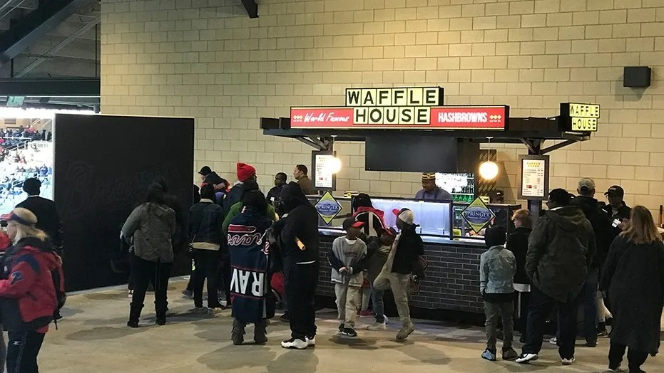 Waffle House Sells Beer For First Time At Georgia Baseball