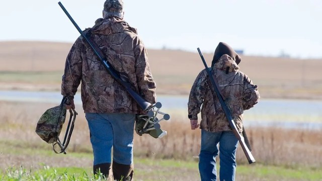 Oklahoma mom believes hunting teaches children respect for animals.