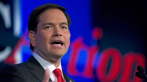 In this Sept. 25, 2015, photo, Republican presidential candidate Sen. Marco Rubio, R-Fla. speaks during the Values Voter Summit, held by the Family Research Council Action in Washington. After a summer largely spent raising money for his Republican campaign for president, Rubio says he's about to start spending a whole lot more time in Iowa and other early voting states. Rubio's campaign says he will be back in Iowa next week, then in New Hampshire, Nevada and South Carolina. All four states are voting in the initial wave of caucuses and primaries.  ( AP Photo/Jose Luis Magana)