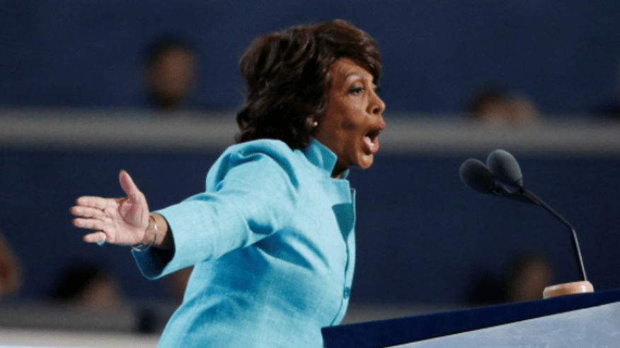 """Rep. Maxine Waters tweeted, """"To Jeff Sessions, how does it feel to be dragged & humiliated?"""""""