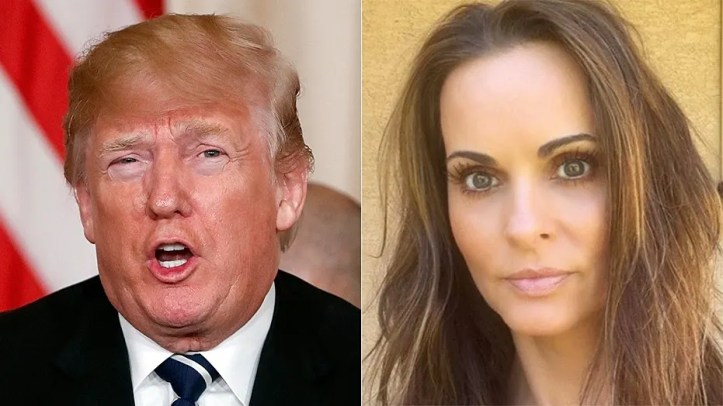 "Former Playboy model Karen McDougal said she is now ""able to tell the truth about my story when asked"" after reaching a settlement with a tabloid magazine that bought the rights to her story about an alleged affair with President Trump."